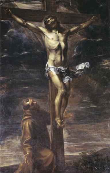 Il Crocifisso adorato da S. Francesco