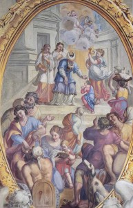 Stroie di Vita della Vergine: Presentazione al Tempio