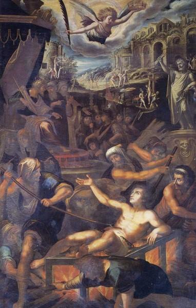 Martirio di S. Lorenzo