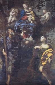 Domenichino - La Madonna con i SS. Filippo e Giacomo