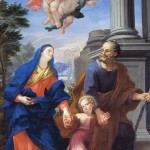 La Sacra Famiglia in cammino