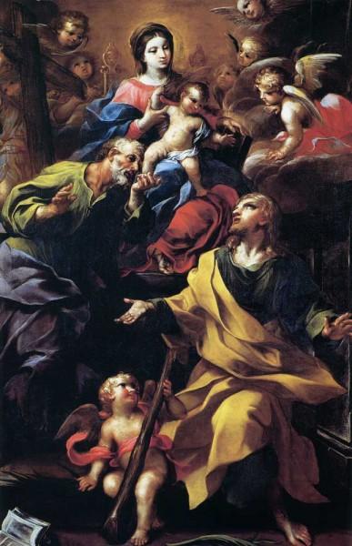 La Vergine con i SS. Filippo e Giacomo